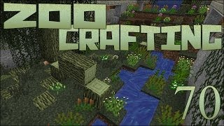 Zoo Crafting Special! Finishing the Crocodile Exhibit! - Episode #70