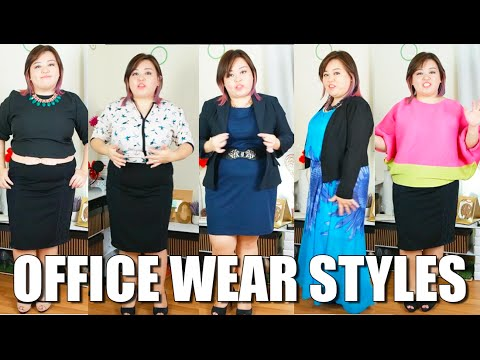 Plus Size Fashion - 12 tips on how to dress up your Office Wear