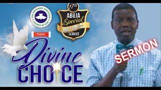 Pastor E.A Adeboye Sermon @ RCCG Abuja 2018 HOLY GHOST SERVICE