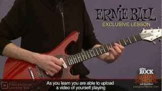 Paul Gilbert's Online Rock Guitar School! The Ernie Ball Lesson!
