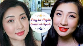 Summer Day To Night Makeup Look