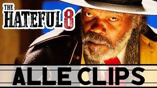 THE HATEFUL 8 Alle Clips / Filmszenen German Deutsch (HD)   Samuel L. Jackson, Quentin Tarantino