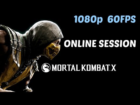 Mortal Kombat X - Scorpion Multiplayer Session (Online 60FPS)