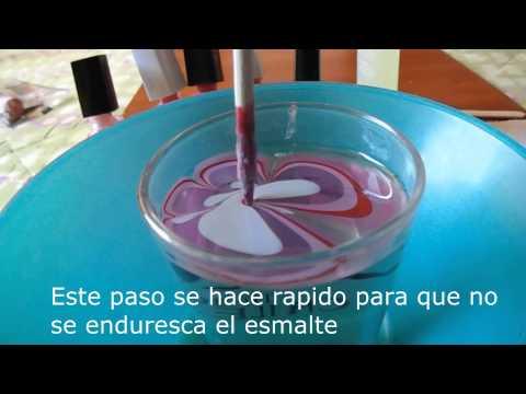 Como pintarse las uñas con Agua♥ Super fácil