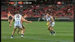 Harvey baulks, Gibson goals - AFL