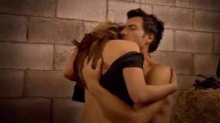 Las Amazonas Diana y Alejandro hacen el amor en las caballerizas