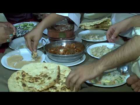 People of Quetta enjoying traditional food on eid first night BMA