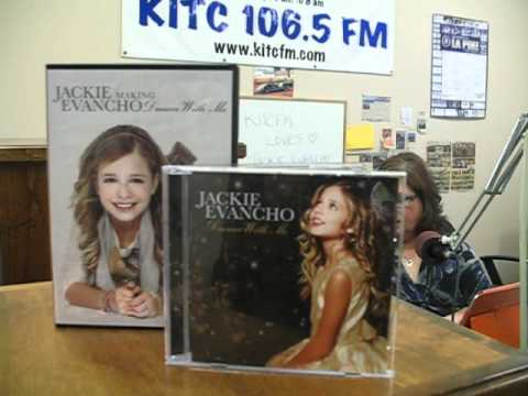 KITC FM Playing Jackie Evancho April 11, 2012