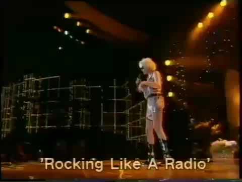 BRIGITTE NIELSEN sings Rockin Like A Radio