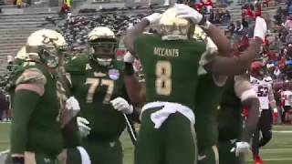 Postgame Reaction: USF defeats Texas Tech 38-34 in Birmingham Bowl