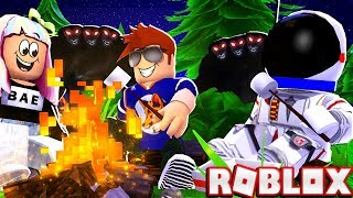 The CRAZIEST End To Our CAMPING NIGHTMARE! -- ROBLOX