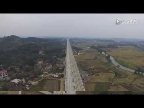 China's high speed rail Shao Dong station