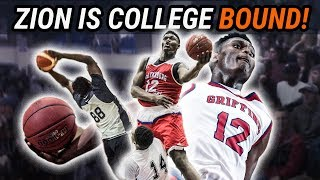 Zion Williamson Just Committed To DUKE! Full Highlights Of The Biggest Recruit Since LEBRON!