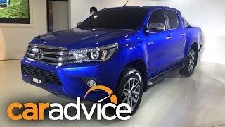 2016 Toyota Hilux (Revo) Reveal : Walkaround