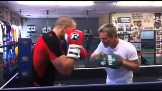 Georges St-Pierre Training
