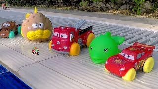 Water Toys Disney Pixar Cars Mcqueen, Mater, Red. Hydro Wheels  Fun cars for Kids