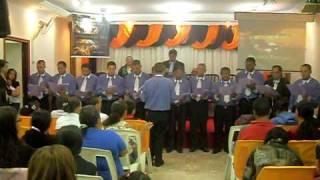 Grupo de Varões (Hino: Agir de Deus)