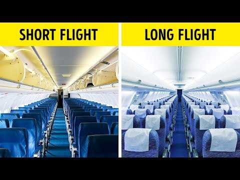 That s Why Airplane Seats Are Almost Always Blue