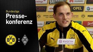 Thomas Tuchel: Team hat überragend trainiert | BVB - Borussia Mönchengladbach