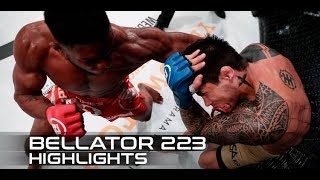 Bellator 223 Fight Highlights: Paul Daley Wins Slugfest