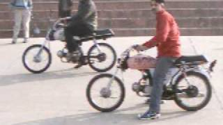 GORA AND FAISAL BUTT LAHORE PAKISTAN race in palay