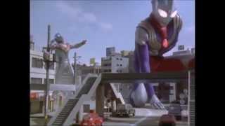 Good vs Evil! Ultraman Tiga vs Evil Tiga