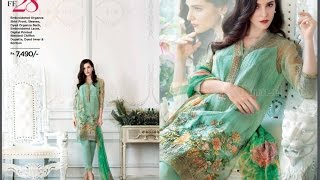 Gul Ahmed Festive Eid Collection 2017 for Women