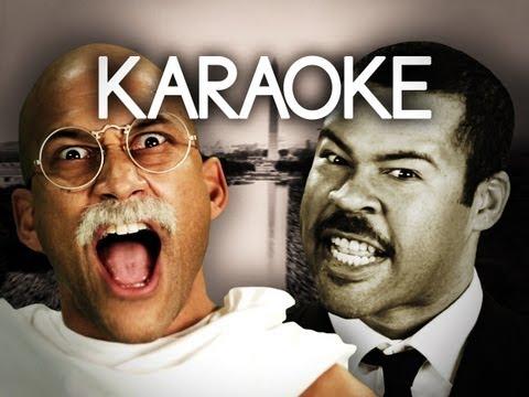 [KARAOKE ♫] Gandhi vs Martin Luther King Jr. Epic Rap Battles of History. [INSTRUMENTAL]