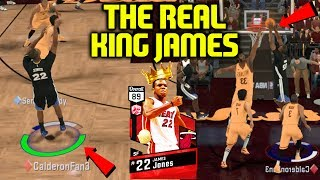 RUBY JAMES JONES! THE REAL KING JAMES! LIMITLESS 3'S! NBA 2K17 MYTEAM ONLINE GAMEPLAY