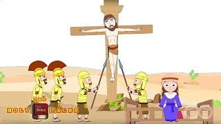 Jesus Is Crucified [corrected] I Stories of Jesus I Animated Children