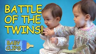 Battle of the Twins! | Funny Baby Compilation