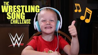 WRESTLING THEME SONG CHALLENGE