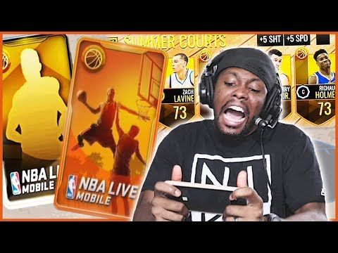 BRAND NEW! NBA LIVE NOW HAS SUMMER COURTS AND NEW CONTENT! - NBA Live Mobile Gameplay