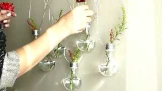 DIY Light Bulb Vases - Part Two