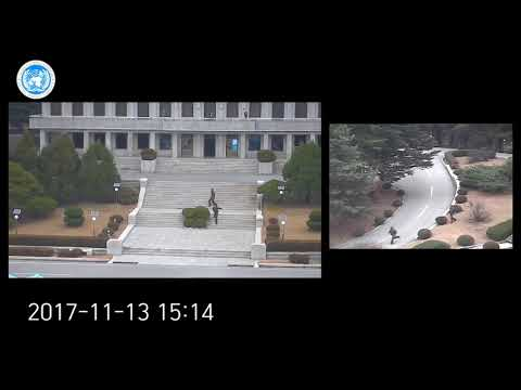 Xxx Mp4 Dramatic Moment North Korean Soldier Makes Mad Dash Defection Across DMZ 3gp Sex