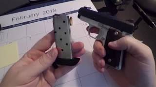 Kimber Micro 9 - Overview Including Firing And Slow-mo.