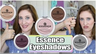 $1.99 Essence Single Eyeshadows - Review & Swatches