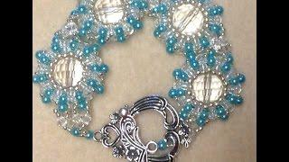 Pearl Wheel Bracelet Tutorial