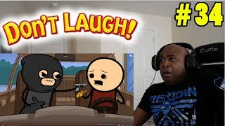 THIS CAN'T BE A REAL CARTOON!! - TRY NOT TO LAUGH CHALLENGE # 34