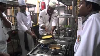 Making of motichoor ladoo@Culinary academy of india