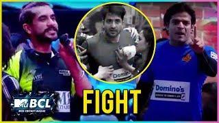 Karan Patel, Suyash Rai, Aly Goni Heated Fight! | Box Cricket League 2018