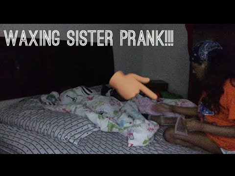 Xxx Mp4 Waxing Sister In Her Sleep PRANK She Almost Cried 3gp Sex