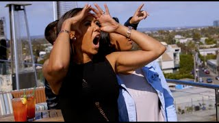 Mat Franco showing Mel B the Sky is the limit!