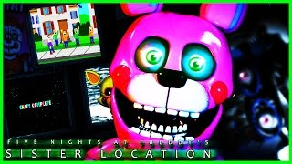 FNAF Sister location CUSTOM NIGHT🌟SECRET ENDING MINIGAMES🌟 Five Nights at Freddy's Sister Location