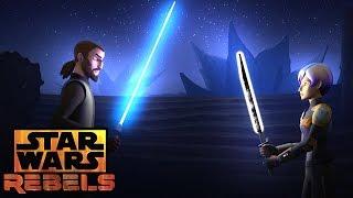 Kanan vs. Sabine | Star Wars Rebels | Disney XD