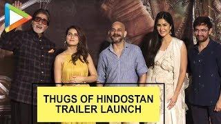 Thugs Of Hindostan – Official Trailer Launch – Aamir   Amitabh   Katrina   Fatima   Full   part 2
