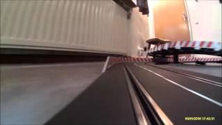 Eine Runde auf 40m Carrera-Bahn