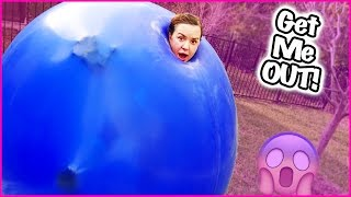 😲 GIANT BALLOON CHALLENGE 😲 TERRA HAS TO BE CUT OUT!! BELLY  BLASTER!