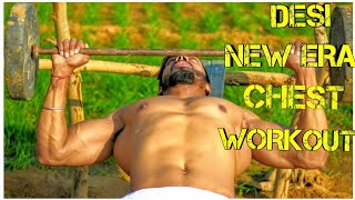 DESI - New Era Chest Workout ⚫||Beginners Series||Lesson 2||Vipin Yadav||