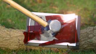 Sledgehammer vs Clock in Slow Motion - The Slow Mo Guys